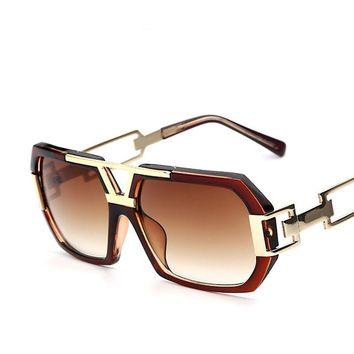 Polycarbonate lense Big Frame Square Sun Glasses