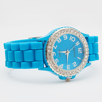 Just In Time Watch - Blue