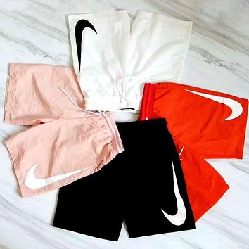 NIKE Fashion Sport Drawstring Print Shorts