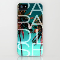 PARADISE iPhone & iPod Case by Chrisb Marquez