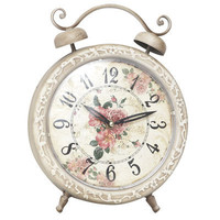 Antiqued Tabletop Clock