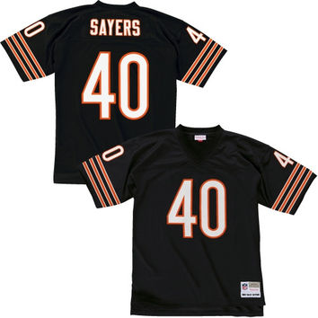 Gale Sayers Chicago Bears Mitchell & Ness Replica Retired Player Jersey – Navy Blue