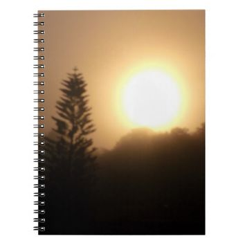 Florida Sunrise Spiral Photo Notebook