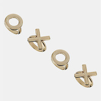 Topshop 'XOXO' Rings (Set of 4) | Nordstrom