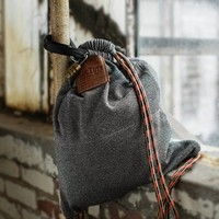 Flak Sack: The Theft-Resistant Drawstring Backpack