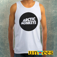 Arctic Monkeys Logo Clothing Tank Top For Mens