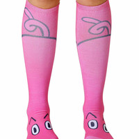 Pig Knee High Socks