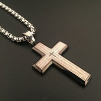 New Arrival Gift Shiny Stylish Jewelry Hot Sale Fashion Hip-hop Club Necklace [6542740035]