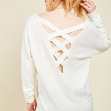 Bonfire Bonding Sweater | Mod Retro Vintage Sweaters | ModCloth.com