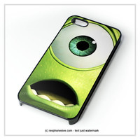 Disney Mike Wazowski Monster Inc iPhone 4 4S 5 5S 5C 6 6 Plus , iPod 4 5  , Samsung Galaxy S3 S4 S5 Note 3 Note 4 , and HTC One X M7 M8 Case