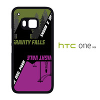 The Book Gravity Falls The Dog Night Vale B0168 HTC One M9  Case
