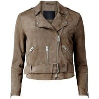 Miriam Womens Leather Jacket