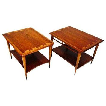 Pre Owned Mid Century Modern Lane End Tables