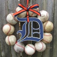 Detroit Tigers Baseball Love Wreat.. on Luulla