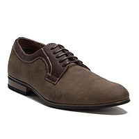 Ferro Aldo Men's 19380DL Perforated Derby Lace Up Oxfords Shoes