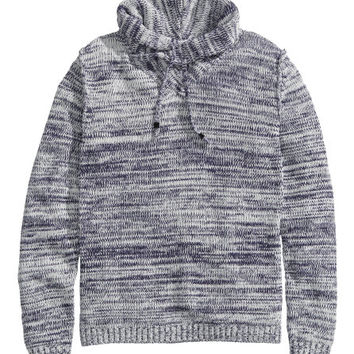 H&M - Knit Sweater - Gray - Men