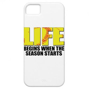 Girls Softball iPhone 5 Cases from Zazzle.com