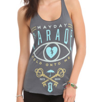 Mayday Parade Hold Onto Me Girls Tank Top