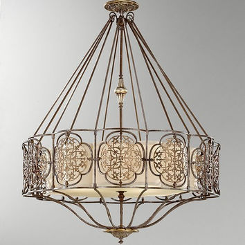 Feiss Marcella Chandelier - F2603-4BRB-OBZ