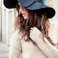 ALESSIA FLOPPY HAT