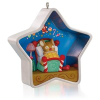 Sugar Plum Star Cookie Cutter Mouse Ornament