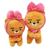 18cm/20cm Kakao Friends Ryan Plush Toys Doll Cute Little Baby Lion Apeach Plush Soft Stuffed Animals Toys Gift for Kids Children