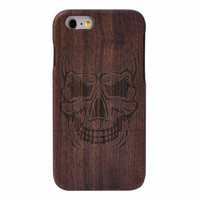"""Real Natural Wood Case Cover For iPhone 6 4.7"""" / 6 Plus Wooden Case"""