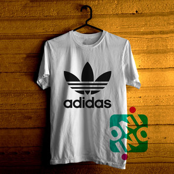 Adidas Logo Tshirt For Men / Women Shirt Color Tees