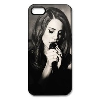Famous Singer Lana Del Rey iPhone 5 Case Hard Plastic Protective iPhone 5 Case