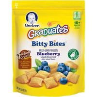 Gerber Graduates Bitty Bites Multi-Grain Nuggets Blueberry, Naturally Flavored with Other Natural Flavors, 2.50 Ounce Bag, 4 Count - Walmart.com