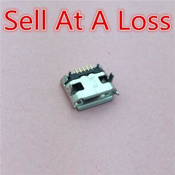 10pcs G27 Micro USB 5pin Jack Female Socket G27 Connector OX Horn Curly Mouth for Tail Charging Mobile Phone Sell At A Loss USA