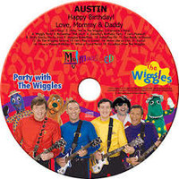 Personalized CDs--custom made for each child.   Child's name is song and spoken by the actual character throughout the tracks.