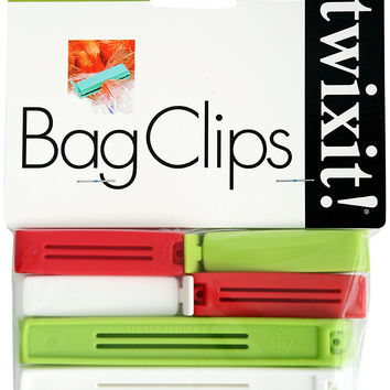 Linden Sweden 2751 Twixit Bag Clips 6-Pack