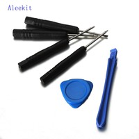 Liplasting 1 Set 6 in1 Mobile Phone Repair Tools Set Kit  LCD Touch Screen tested Tool for iPhone 5C Hand Repair Tools Set