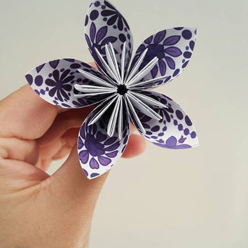 Origami Flowers - Set of 10