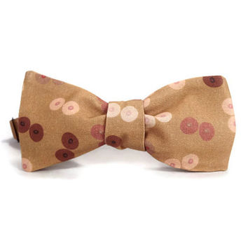 Boobie bowtie, Breast bowtie, Nipples bowtie, tits bowtie, boobs bowtie, naughty bowtie, geometric circles, tatas, titties, mens bowtie
