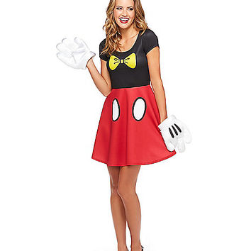 Skater Mickey Mouse Dress - Disney - Spirithalloween.com