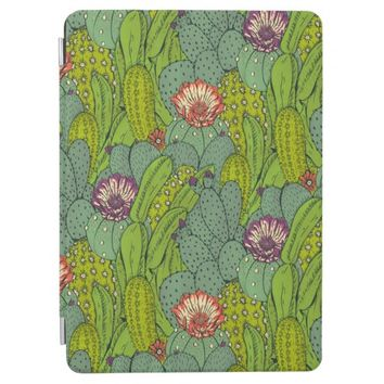 Cactus Flower Pattern iPad Air Cover