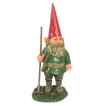 Woody Jr the Garden Gnome