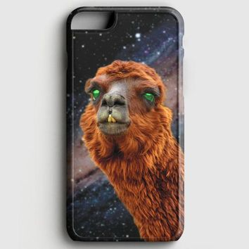 LlamaS Green Nebula Encounter iPhone 8 Case
