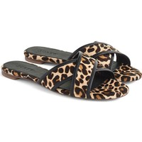 J.Crew Cora Genuine Calf Hair Slide Sandal (Women) | Nordstrom