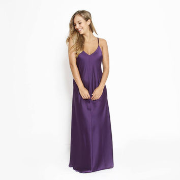 new year happy sale purple dress very elegant and feminine  Dress, Prom Dress, Maxi Party Dress ,Maxi Evening Dress, Purple Cocktail Dress