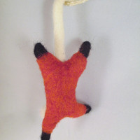 Needle Felted Animal - Wool Possum Collectible Animal Sculpture