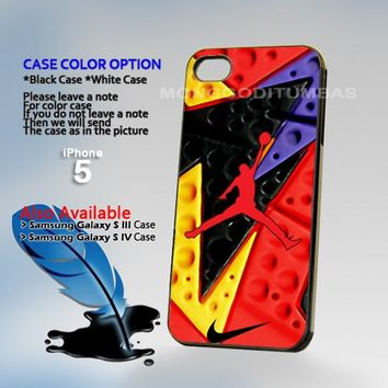 NIKE Jordan Retro 7 RAPTOR, Photo Hard Plastic iPhone 5 Case Cover
