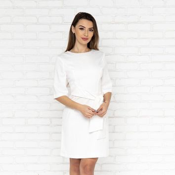 Be In Love Dress in White