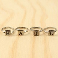 Symbol Of Hate Ring