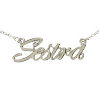 Orphan Black Sestra Necklace