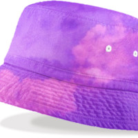 Purple Sky Bucket Hat created by ErikaKaisersot | Print All Over Me