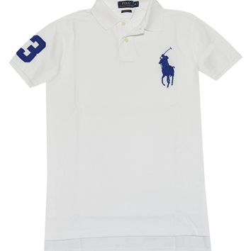 Ralph Lauren Men Custom Fit Big Pony Polo Shirt