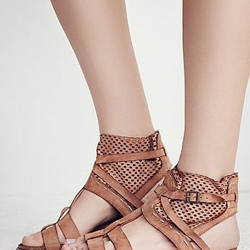 Free People White Dunes Boot Sandal